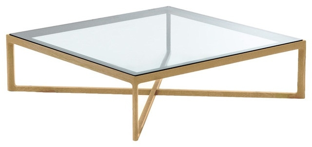 Great Latest Oak Square Coffee Tables For Enchanting Square Coffee Tables With Glass Top Square Coffee (Image 27 of 50)