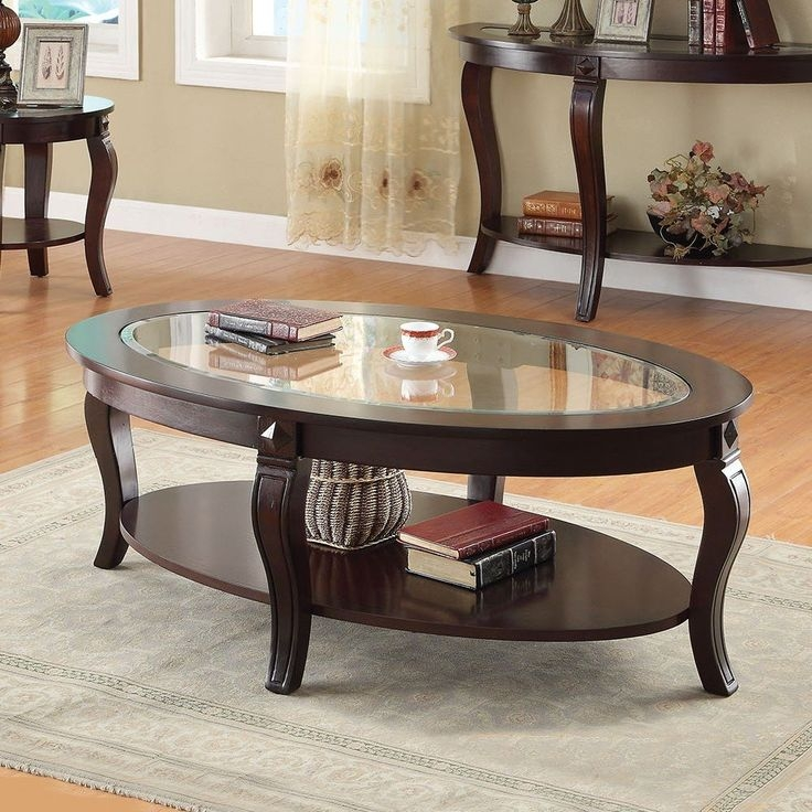 Great Latest Oval Glass Coffee Tables Regarding Best 25 Oval Coffee Tables Ideas Only On Pinterest Coffee Table (Image 22 of 50)