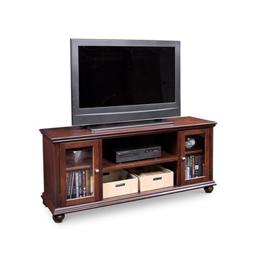 Great Latest Retro Corner TV Stands Within Tv Media Consoles Media Furniture Hom Furniture (View 37 of 50)