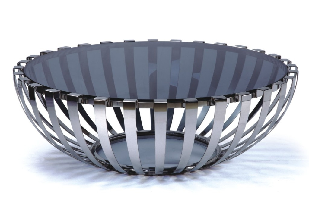 Great Latest Round Steel Coffee Tables Pertaining To Round Modern Coffee Table (Image 22 of 50)