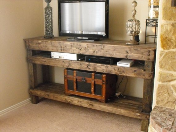 Great Latest Rustic Looking TV Stands With Regard To 11 Best Tv Stands Images On Pinterest Rustic Tv Console Rustic (Image 20 of 50)