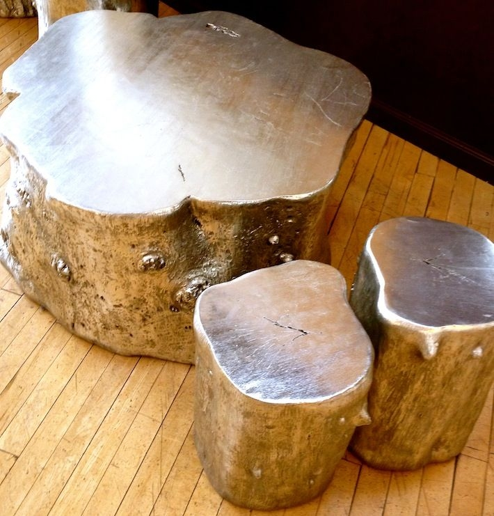 Great Latest Silver Trunk Coffee Tables Regarding 25 Best Tree Trunk Coffee Table Ideas On Pinterest Tree Stump (Image 19 of 40)