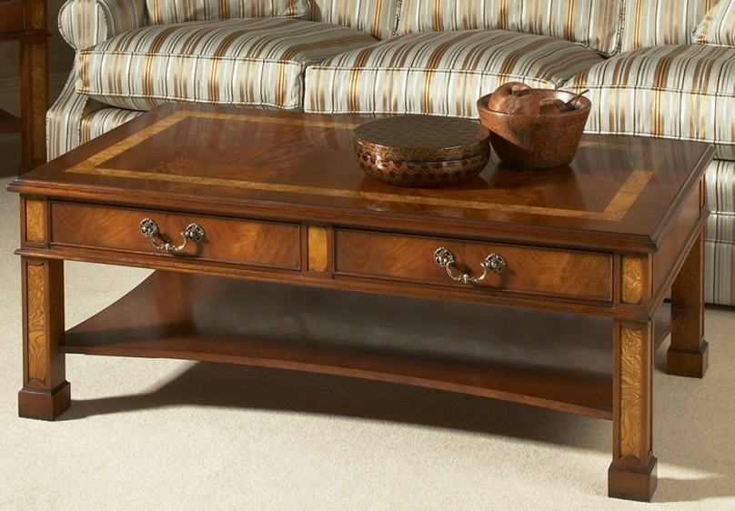 Great Latest Small Coffee Tables With Drawer For Round Coffee Tables With Storage (Image 26 of 50)