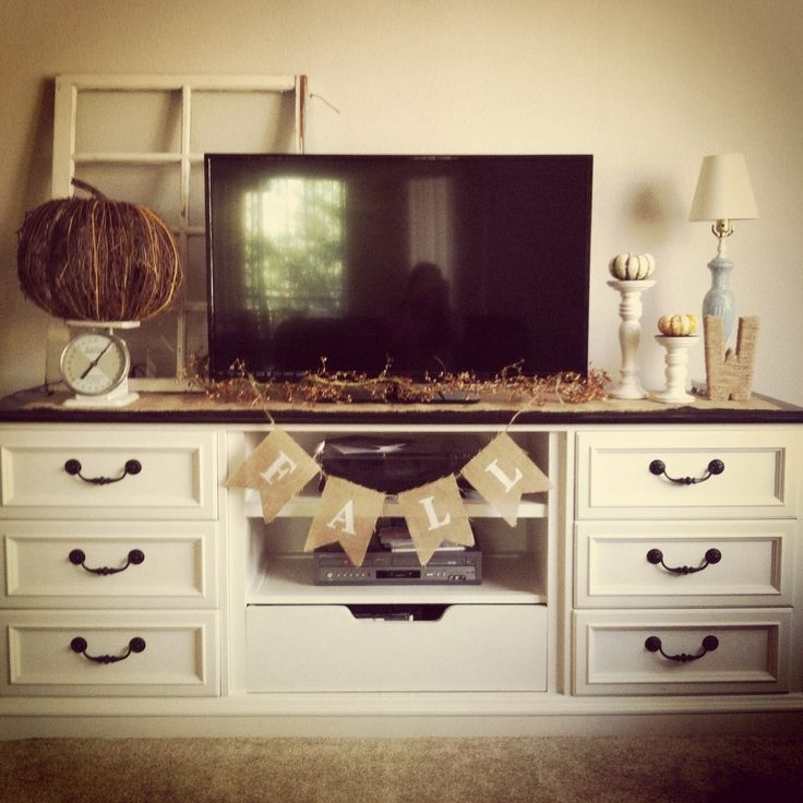 Great Latest Small TV Stands For Top Of Dresser Regarding Best 25 Dresser Tv Stand Ideas On Pinterest Furniture Redo Diy (Image 23 of 50)