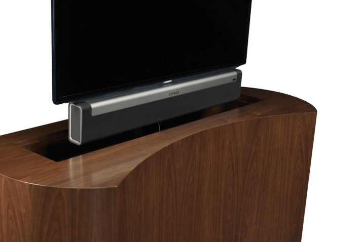 Great Latest Sonos TV Stands Throughout Custom Tv Stand Custom Made Tv Stands Coast Retractable Tv Stand (View 23 of 50)