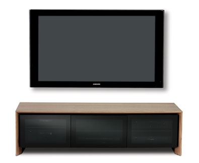 Great Latest Under TV Cabinets Inside Bdi Casata Triple Width Low Enclosed Cabinet (Image 21 of 50)