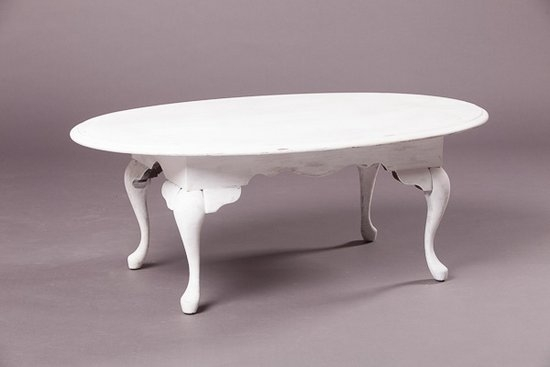 Great Latest White Retro Coffee Tables Intended For Table White Oval Coffee Table Home Interior Design (View 15 of 50)