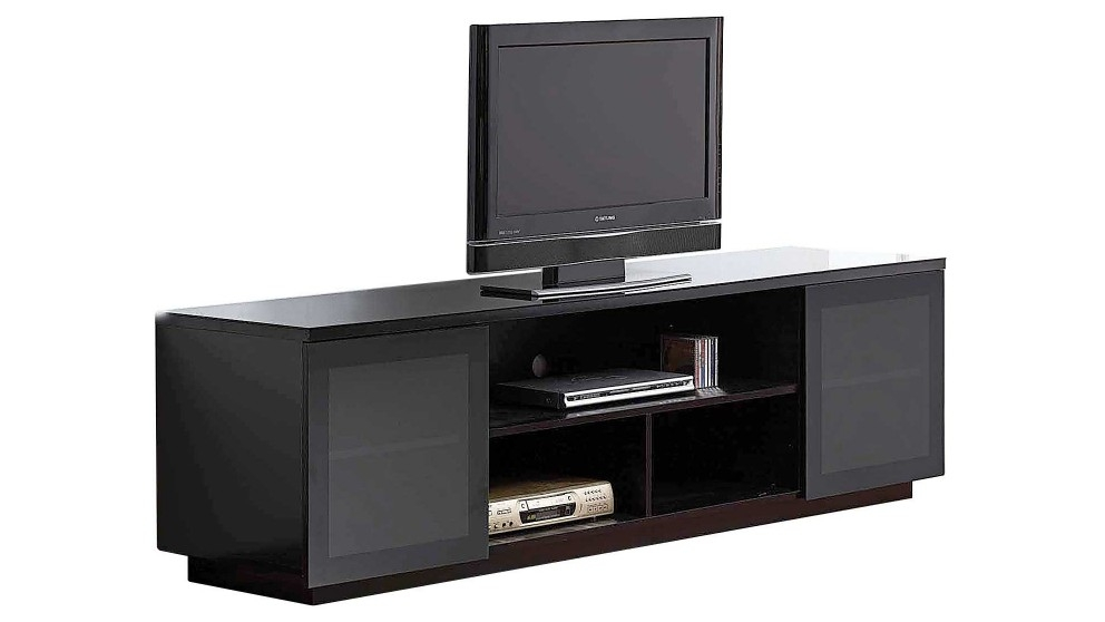 Great New Black TV Cabinets Pertaining To Tv Unit Tv Cabinet Tv Entertainment Unit Tv Furniture (Image 18 of 50)