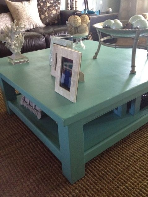 Great New Blue Coffee Tables Regarding Best 25 Blue Coffee Tables Ideas Only On Pinterest Beach Style (Image 24 of 50)