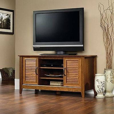 Great New Cherry TV Stands With Tv Stand For Tvs Up To 47 Milled Cherry Panel Living Room Wood (Image 24 of 50)