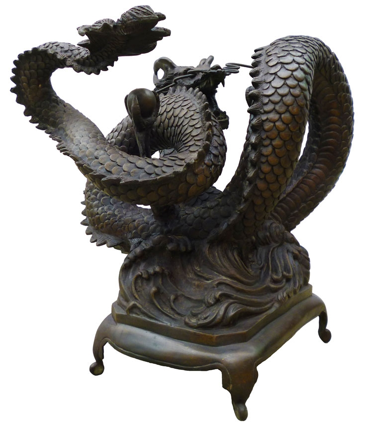 Great New Dragon Coffee Tables Within Bronze Chinese Dragon Coffee Table (Image 27 of 50)