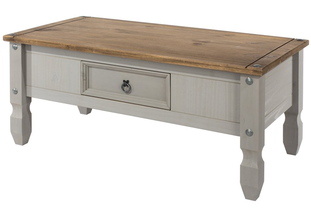 Great New Grey Wash Coffee Tables For Abdabs Furniture Corona Grey Washed Coffee Table (View 17 of 50)