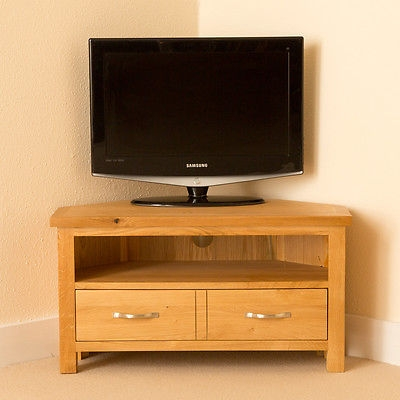 Great New Light Oak Corner TV Cabinets For Newlyn Oak Corner Tv Stand Light Oak Tv Unit Corner Tv Cabinet (Image 29 of 50)