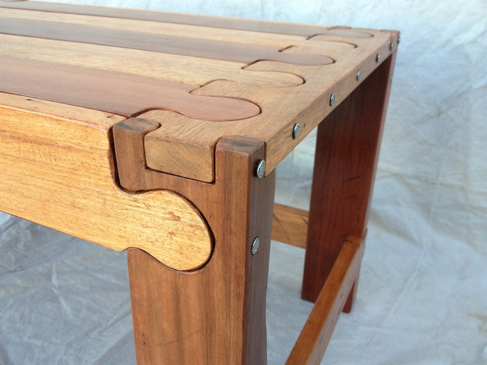 Great New Puzzle Coffee Tables Intended For I Just Finished This Side Table That Iu0027m Calling Jigsaw Puzzle (View 11 of 40)