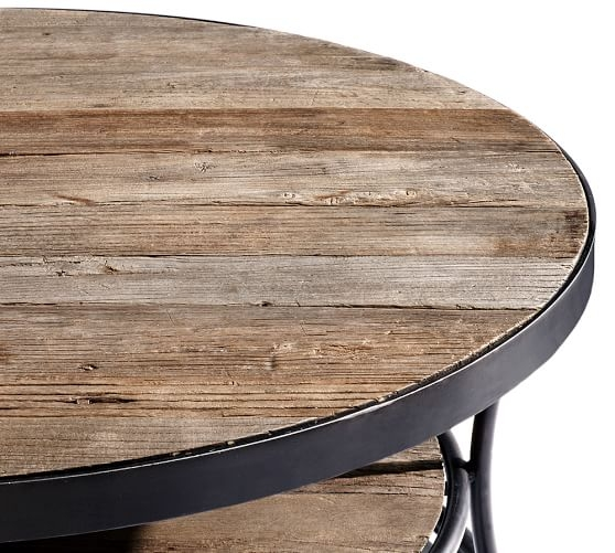 Great New Reclaimed Wood Coffee Tables Within Lovable Reclaimed Wood Round Coffee Table Cosy Round Wood Coffee (View 24 of 50)