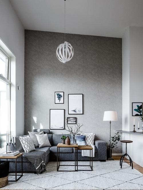Great New Scandinavian Design TV Cabinets Throughout Scandinavian Living Room Design Ideas Remodels Photos Houzz (View 49 of 50)
