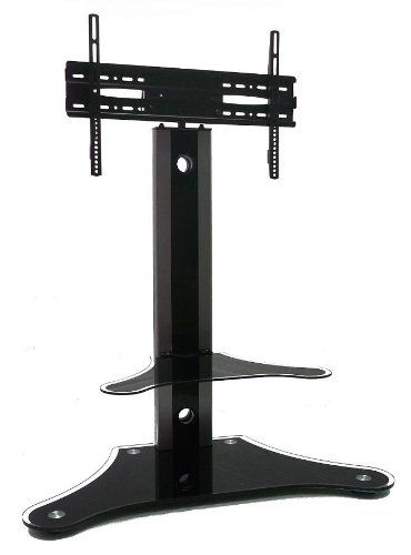 Great New Swivel Black Glass TV Stands Throughout 58 Best Tv Stands Images On Pinterest (Image 27 of 50)