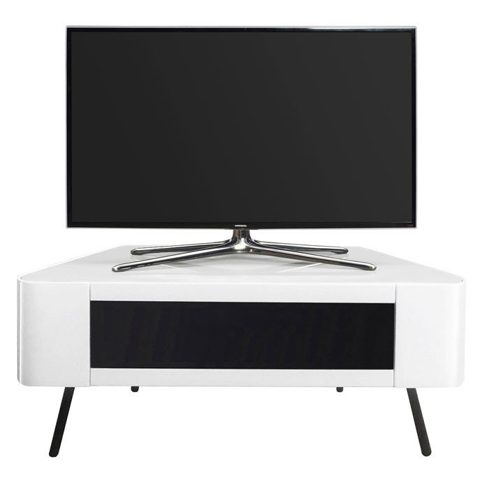 Great New White Corner TV Cabinets With Designs Nova 1140 Gloss White Corner Tv Cabinet (Image 24 of 50)