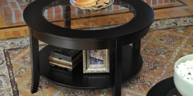 Great Popular Elephant Glass Top Coffee Tables In Elegant Glass Top Display Coffee Table Rustic (Image 18 of 50)