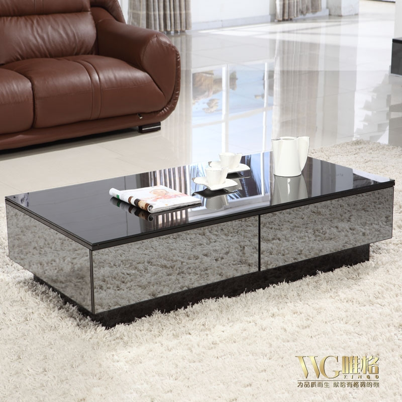 Great Popular Glass Coffee Tables With Storage Throughout Coffee Table Glamorous White Glass Coffee Table Sets White Wood (Image 19 of 50)