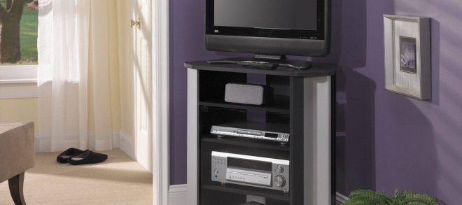 Great Popular Grey Corner TV Stands Inside Grey Corner Tv Stand Magnificent On Home Decorating Ideas For (Image 27 of 50)