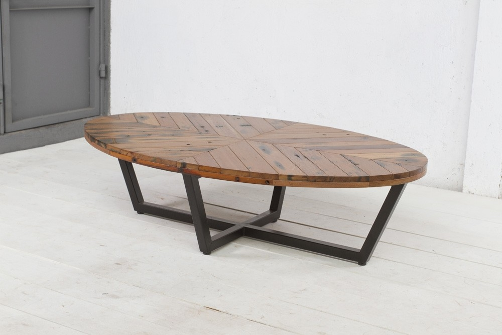Great Popular Metal Oval Coffee Tables Inside Coffee Table Surprising Oval Wood Coffee Table Style 36 Oval (Image 17 of 50)