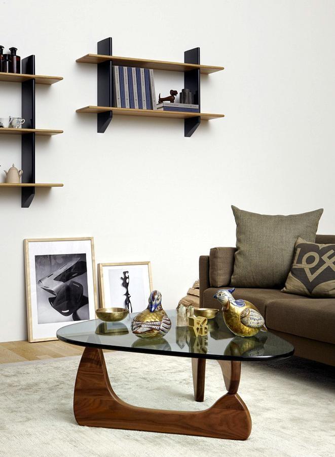 Great Popular Noguchi Coffee Tables Regarding Vitra Coffee Table Isamu Noguchi 1944 Designer Furniture (View 7 of 40)