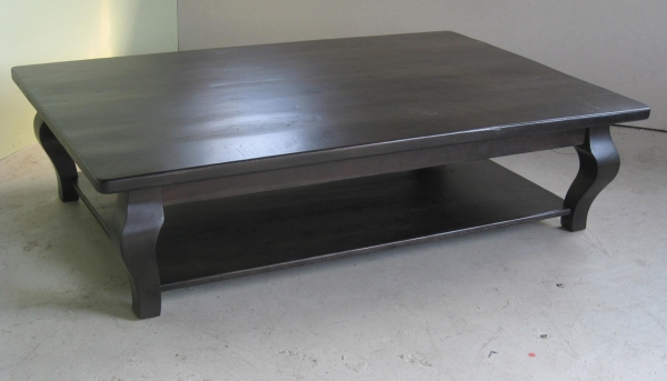 Great Popular Oak Square Coffee Tables Inside Fine Black Square Coffee Table In Dark Inside Decor (View 38 of 50)
