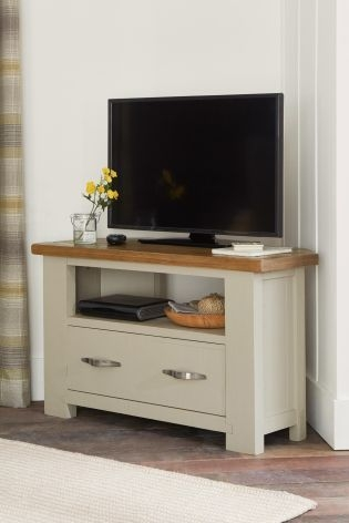 Great Popular Painted Corner TV Cabinets For Buy Hartford Painted Corner Tv Unit From The Next Uk Online Shop (View 29 of 50)