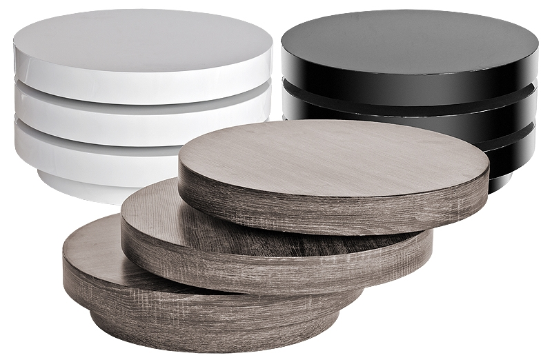 Great Popular Round High Gloss Coffee Tables Regarding Round White Coffee Table Tuesday August 12 Modern Round Coffee (View 17 of 50)