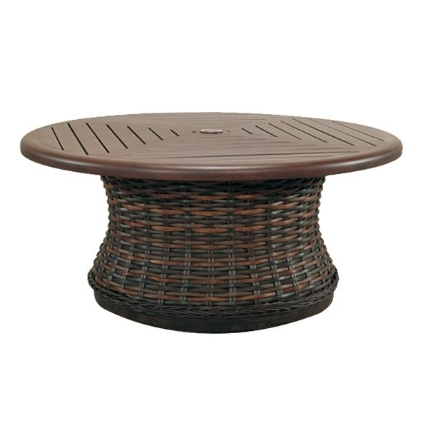 Great Popular Round Woven Coffee Tables Pertaining To Catalina (Image 30 of 50)