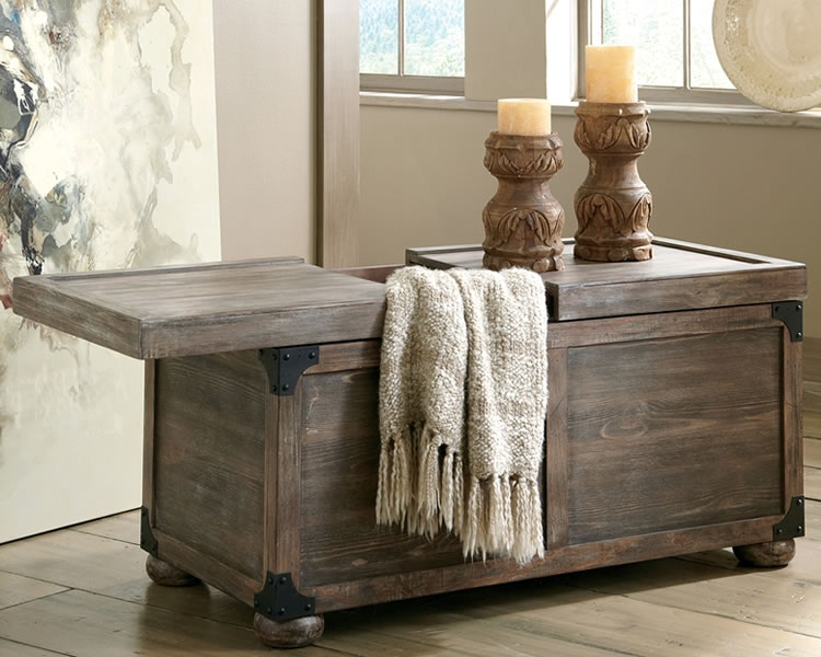 Great Popular Rustic Style Coffee Tables With Coffee Table Rustic Coffee Table Trunk Style With Storage (View 23 of 50)