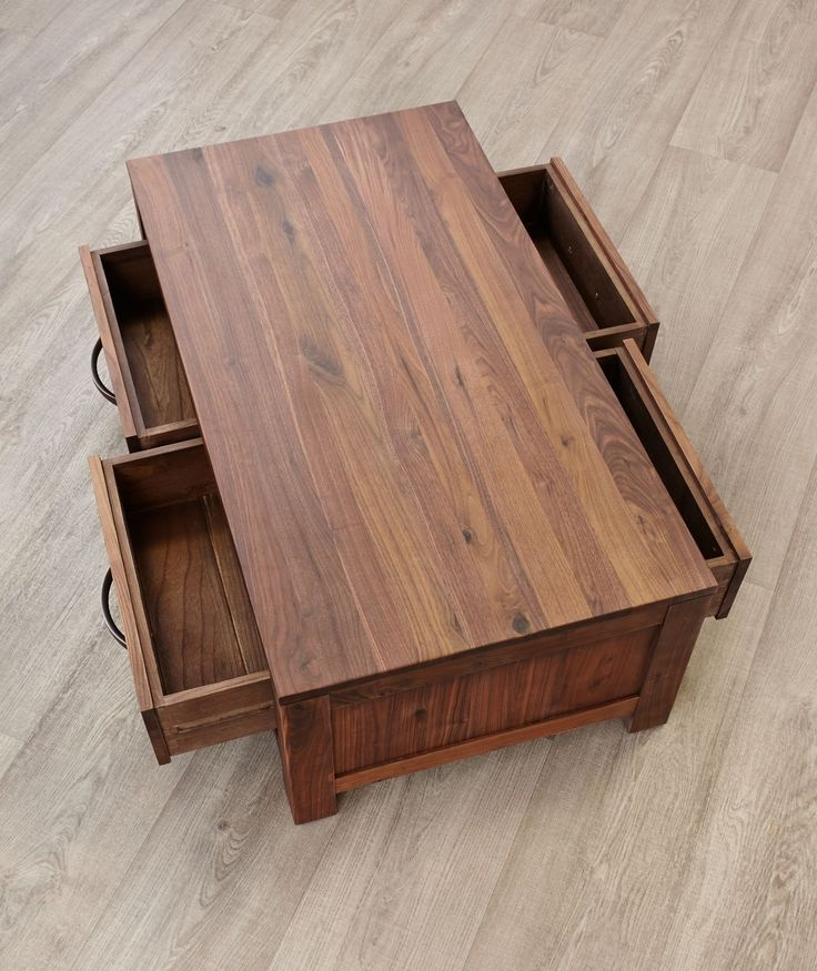 Great Popular Small Coffee Tables With Drawer With Regard To Living Room Best 20 Coffee Table With Drawers Ideas On Pinterest (Image 27 of 50)