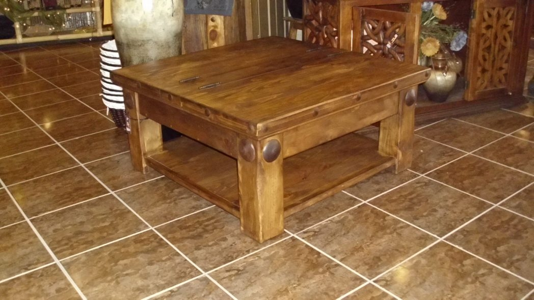 Great Popular Square Pine Coffee Tables With Regard To Square Pine Coffee Table Coffee Tables Thippo (Image 31 of 50)