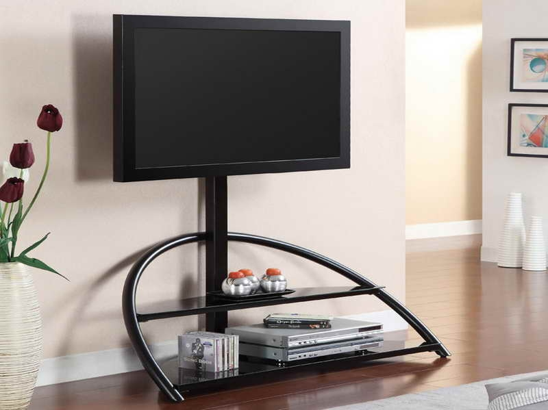 Great Popular Tall TV Stands For Flat Screen With Regard To Tv Stands 10 Awesome Stands For Flat Screen Tvs Collection (Image 23 of 50)