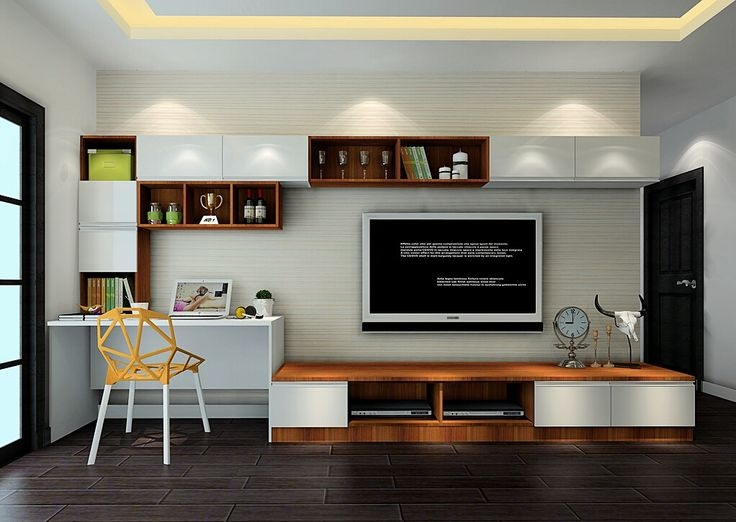 Great Popular TV Stands And Computer Desk Combo Within Desk And Tv Stand Combo Google Search Pinteres (View 6 of 50)