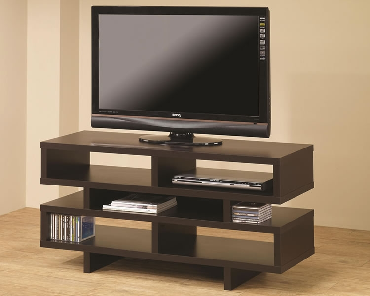 Great Popular TV Stands With Back Panel With Modern Tv Stand Cream Modern Tv Stands As Entertaining Furniture (View 46 of 50)