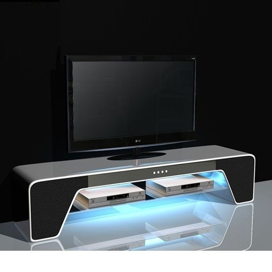 Great Popular White And Black TV Stands For 248 Best Tv Stand Images On Pinterest Tv Stands Stand In And (Image 21 of 50)