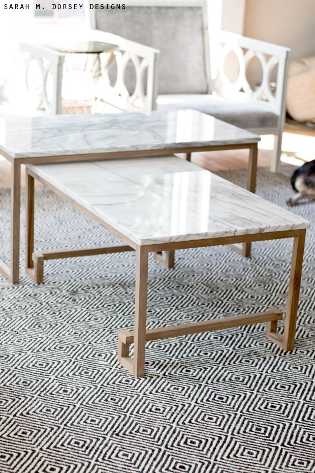 Great Popular White Marble Coffee Tables For Best 25 Marble Coffee Tables Ideas On Pinterest Marble Top (View 11 of 50)