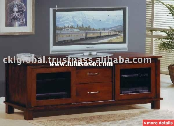 Great Popular Wooden TV Cabinets Throughout Living Room Furniture Wooden Tv Cabinet Bizrice (View 14 of 50)