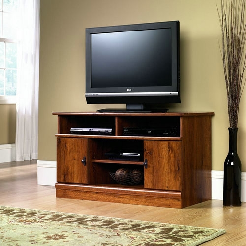 Great Preferred Corner TV Stands 40 Inch With Regard To Reviews Sauder Harbor View Corner Tv Stand For 40 Inch Tv Best (Image 23 of 50)