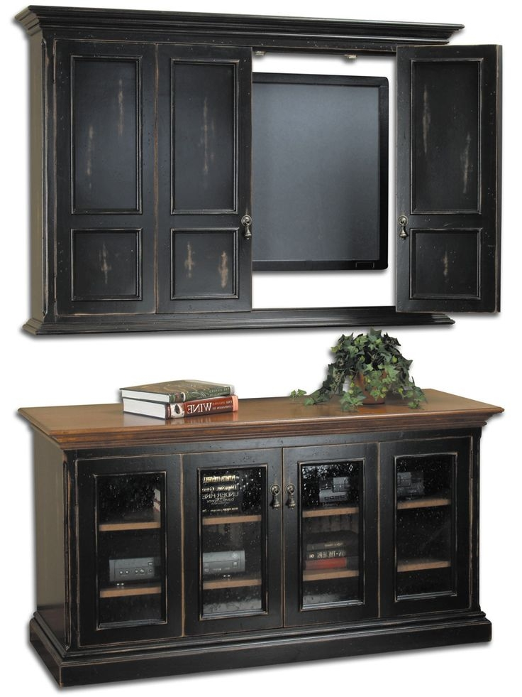 Great Preferred Enclosed TV Cabinets For Flat Screens With Doors Pertaining To Best 25 Tv Cabinets With Doors Ideas On Pinterest Tv Stand With (Image 27 of 50)