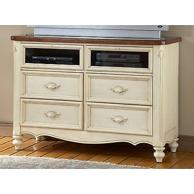 Great Preferred French Country TV Stands With Multi Media Center French Country Coastal Cottage Chest Tv Stand (View 24 of 50)