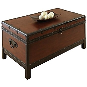 Great Preferred Silver Trunk Coffee Tables In Amazon Maldives Trunk 185hx38w Walnut Kitchen Dining (Image 20 of 40)