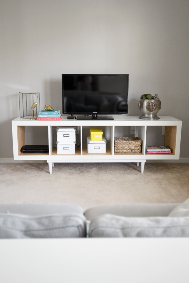Great Preferred Single Shelf TV Stands With Regard To 35 Diy Ikea Kallax Shelves Hacks You Could Try Shelterness (View 36 of 50)