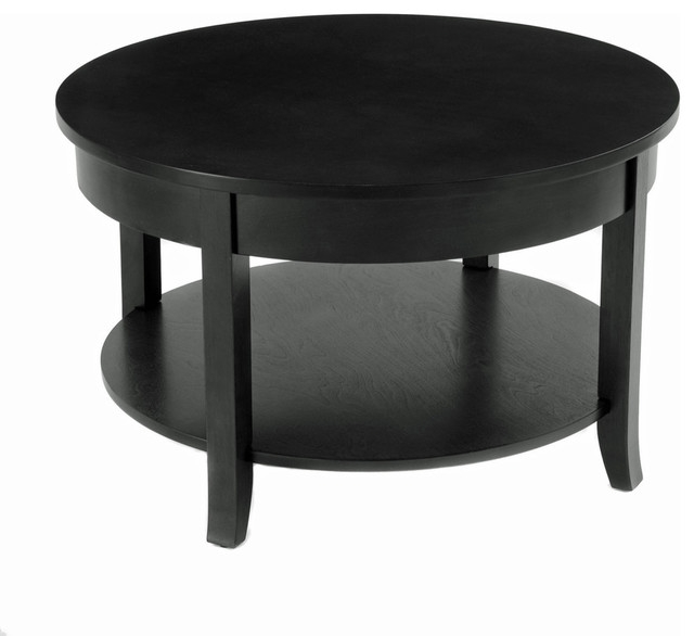 Great Preferred Small Coffee Tables With Shelf Intended For 30 Round Coffee Table With Round Accent And Lower Shelf (Image 19 of 40)