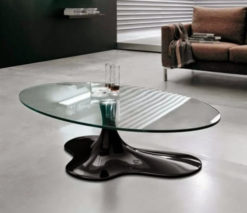 Great Preferred Spiral Glass Coffee Table Within 31 Designer Modern Coffee Table Designs As The Interior Highlight (Image 23 of 50)