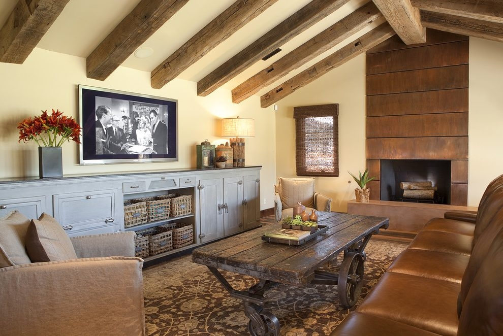 Great Preferred Traditional TV Cabinets With Minneapolis Low Tv Cabinet Living Room Modern With Dark Stained (Image 22 of 50)