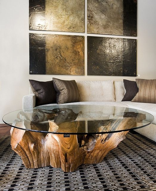 Great Preferred Trunk Coffee Tables Pertaining To Best 25 Trunk Coffee Tables Ideas On Pinterest Wood Stumps (View 16 of 50)