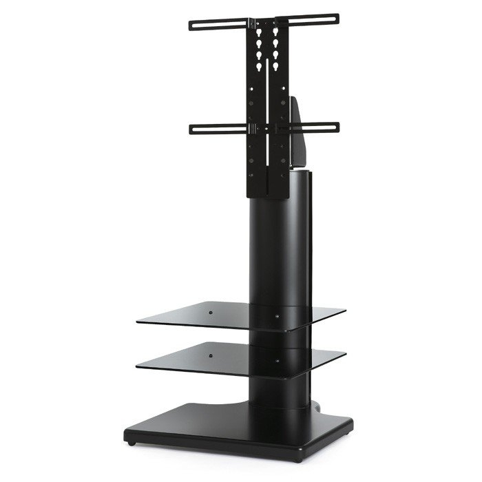 Great Premium Cantilever TV Stands Within Off The Wall Origin S2 Cantilever Tv Stand In Black For Tvs Up To (Image 17 of 50)
